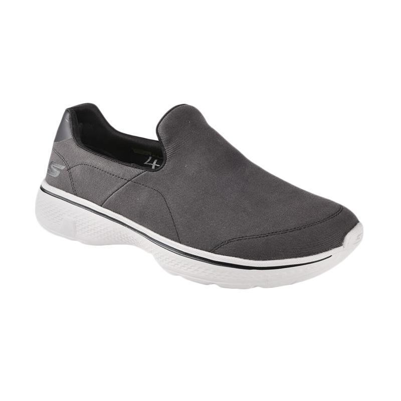 Skechers Men Go Walk 4 Sepatu Olahraga Pria Grey