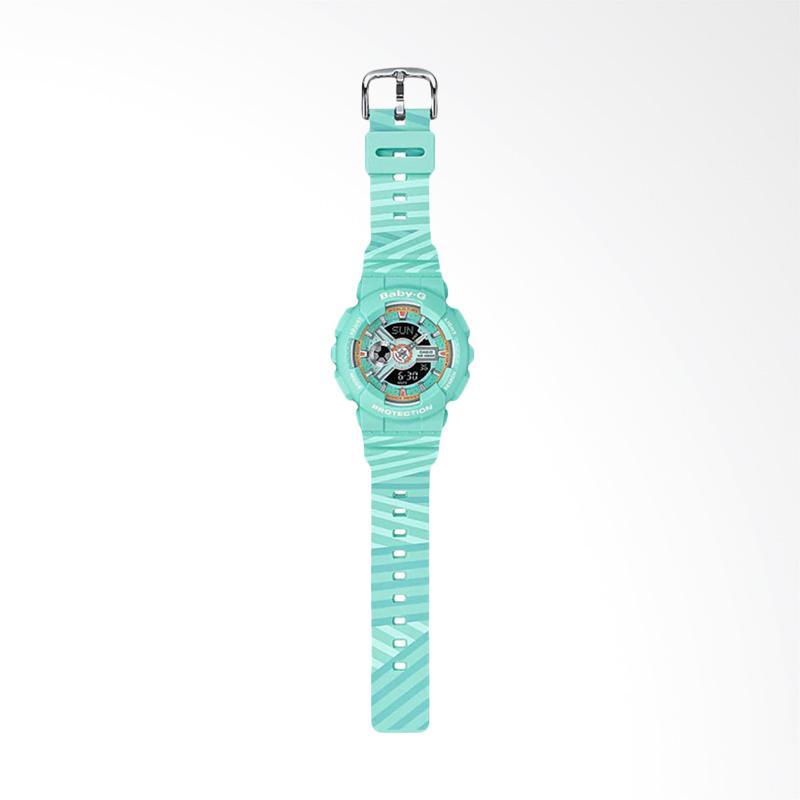 b60286098baec Jual CASIO BA-110CH-3ADR Baby-G Punto It Design Green Resin Band Jam Tangan  Wanita Online - Harga   Kualitas Terjamin