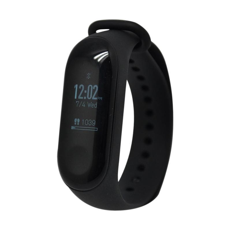 Xiaomi Mi Band 3 Internasional Version Smartband Black