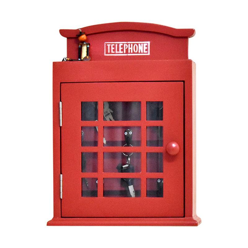 harga Livien British Rak Gantungan Kunci - Merah Blibli.com