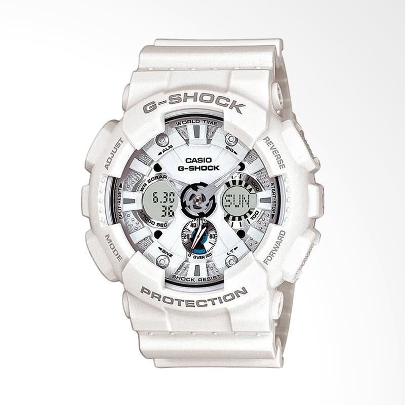 Jual CASIO G-Shock Resin Jam Tangan Pria - Putih  GA-120A-7ADR  Online -  Harga   Kualitas Terjamin  e55fd67b16