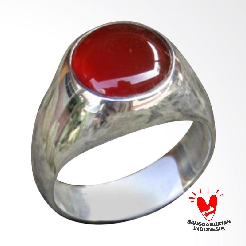 harga Jnanacrafts Motif Simple Batu Carnelian Cincin Perak Blibli.com