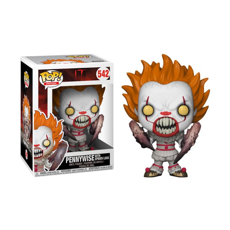 Funko POP Movies Horror IT Pennywise with Spider Legs 542