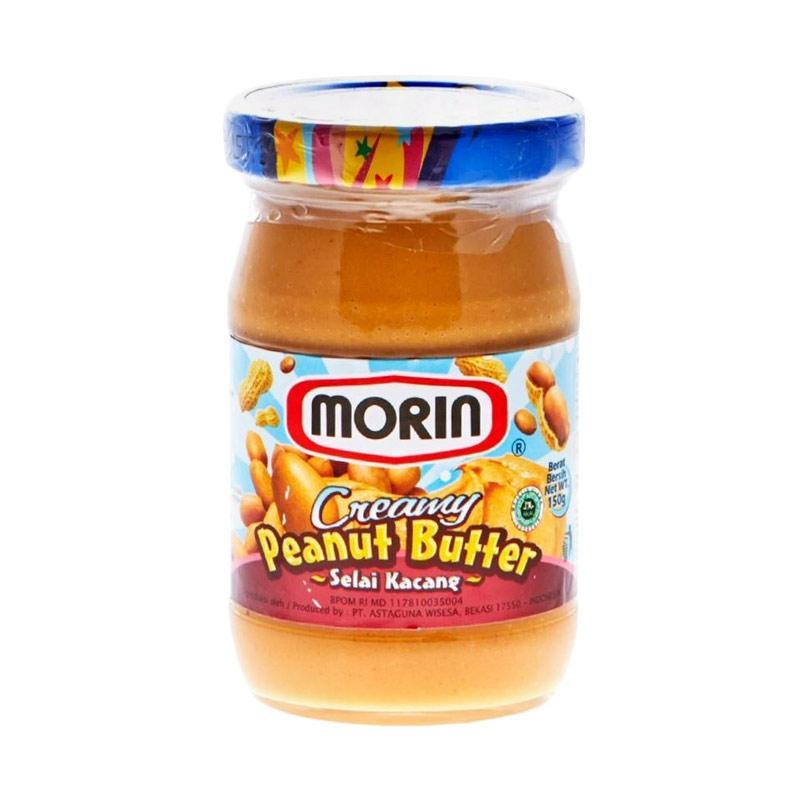 Jual Morin Creamy Peanut Butter Selai 150 G Murah Mei 2021 Blibli