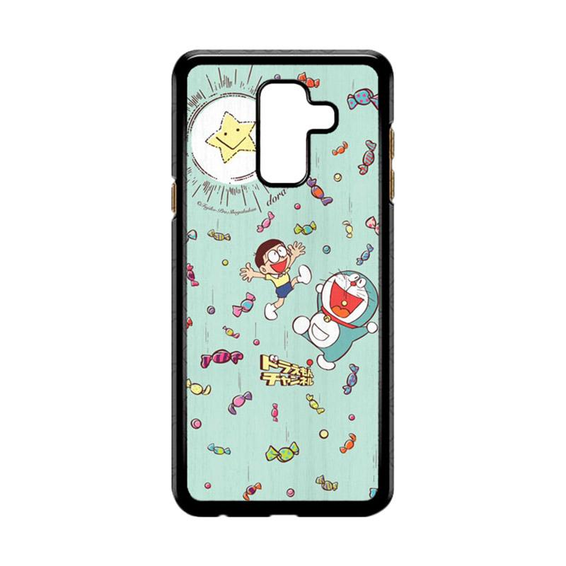 bunnycase bunnycase hp wallpaper doraemon and nobita li0195 custom hardcase casing for samsung galaxy a6 plus full02