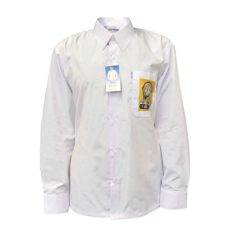Jual Rhino Sablon Tetoron Seragam Sekolah Baju Putih Panjang Osis Smp Online Februari 2021 Blibli