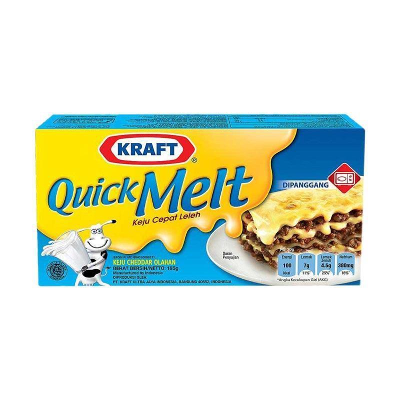 Kraft Quick Melt Keju 165 g
