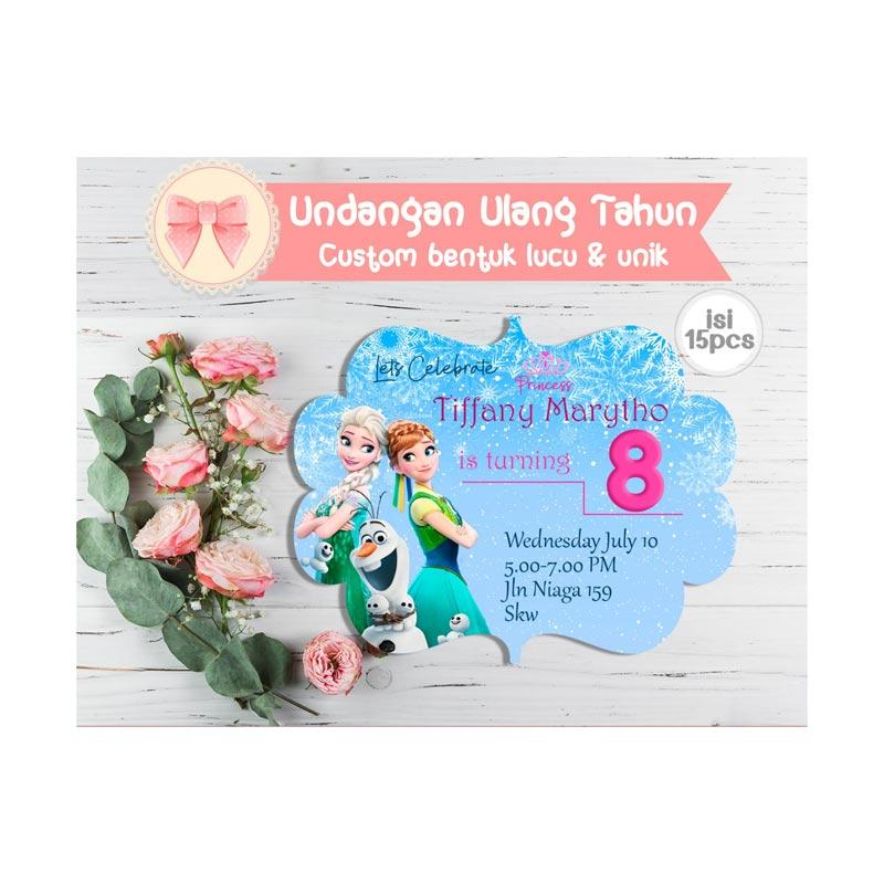 Jual Creative Printing Tema Frozen Undangan Ultah Anak Online November 2020 Blibli
