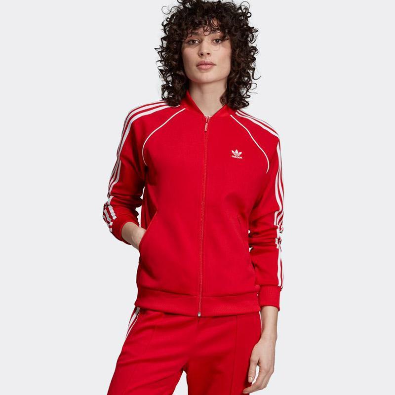 adidas Originals Women SST Track Tops Jaket Olahraga