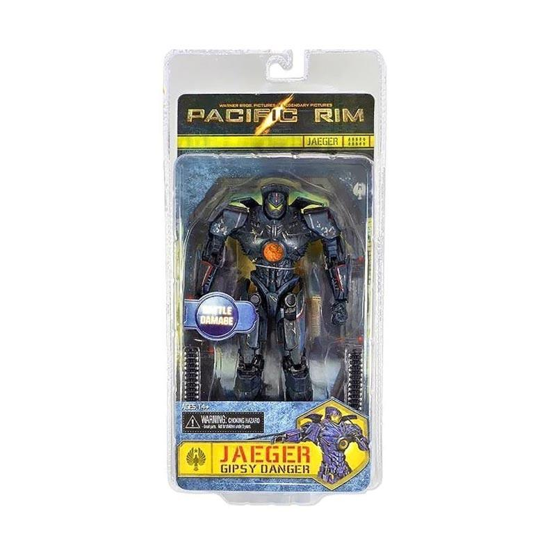 Pacific Rim Action Figure Kids Toys Model 18cm PVC Jaeger Gipsy Danger New