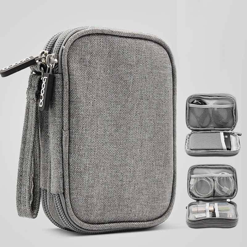 SD Memory Cards Cable Organizer Electronic Accessories Travel Bag Rainbow Unicorn Ninja USB Flash Drive Case Bag Wallet