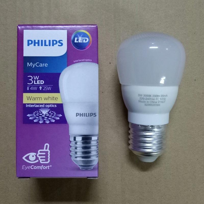 Jual Philips Lampu Led Bulb 3w 3000k Warm White Kuning Online November 2020 Blibli Com