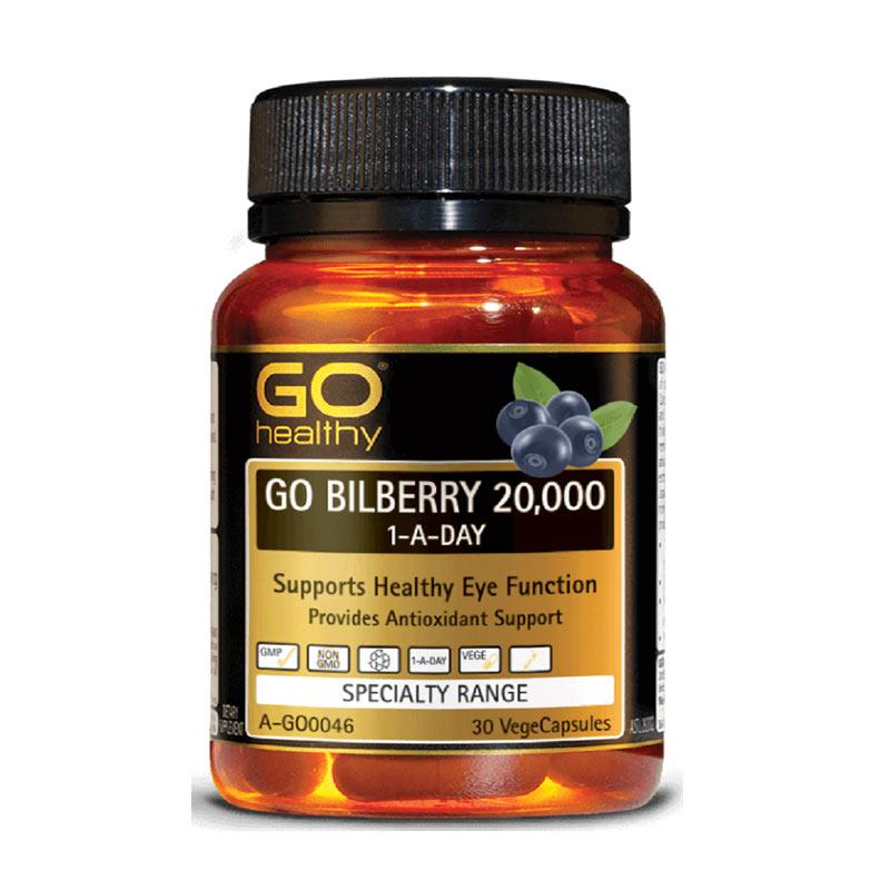 Jual Go Healthy Go Bilberry 30 Vegecapsule Online Oktober 2020 Blibli Com