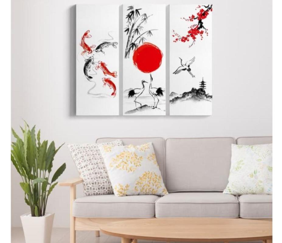 Lukisan Dekorasi Jepang