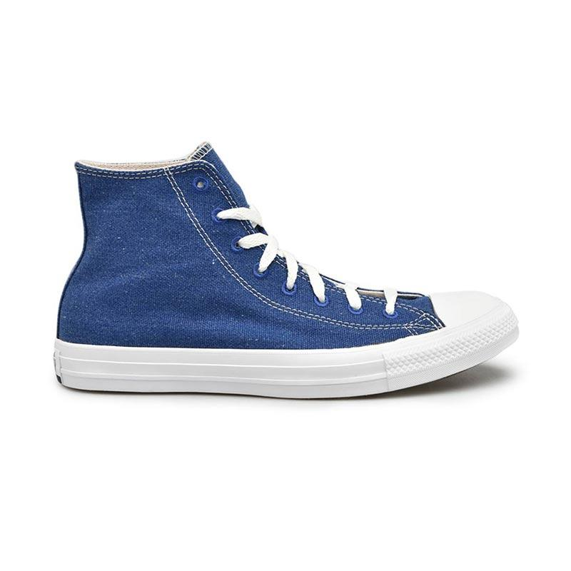 Converse Chuck Taylor All Star Rush Sneakers Shoes Pria Blue