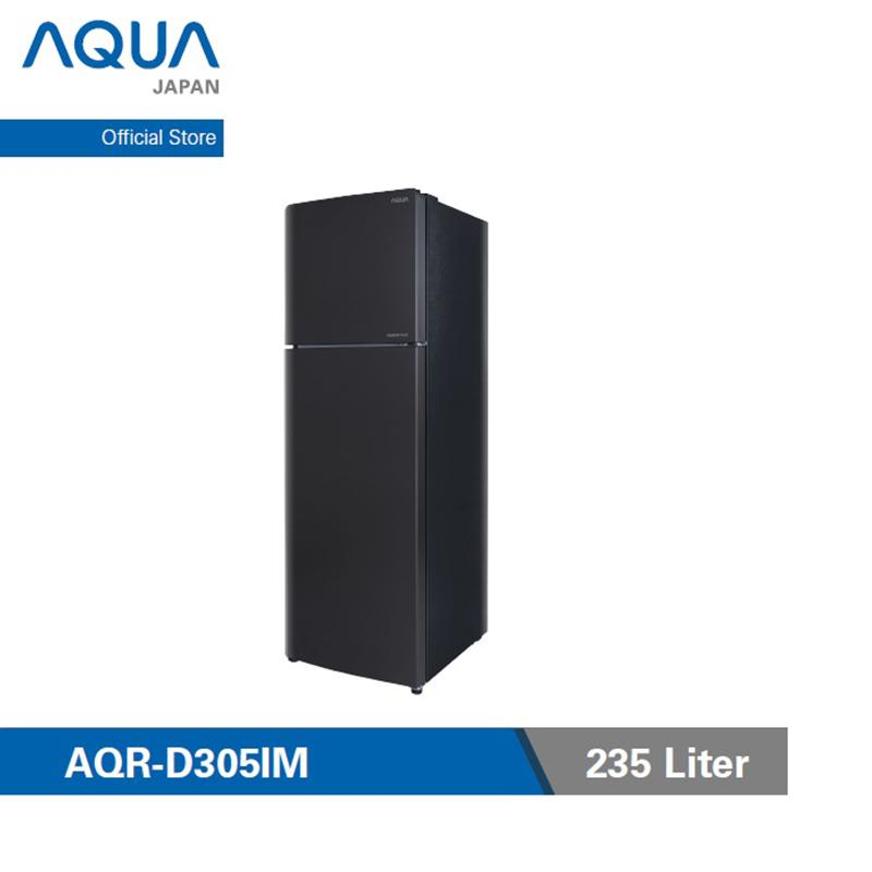 Aqua Japan AQR 305IM DS Kulkas Inverter 2 Pintu 235 L