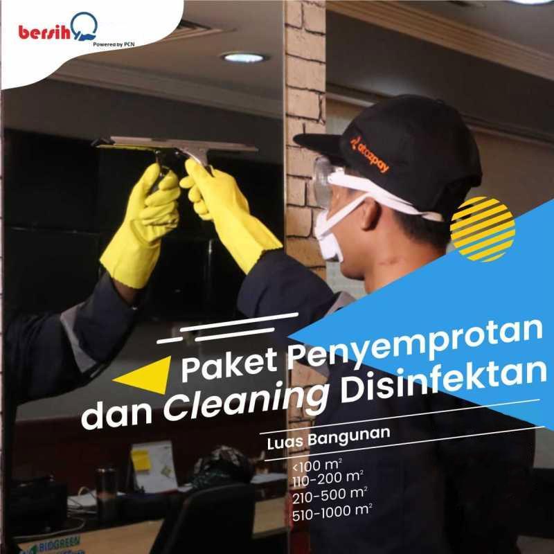 Khalifah Asia Health Paket Penyemprotan dan Cleaning Disinfektan