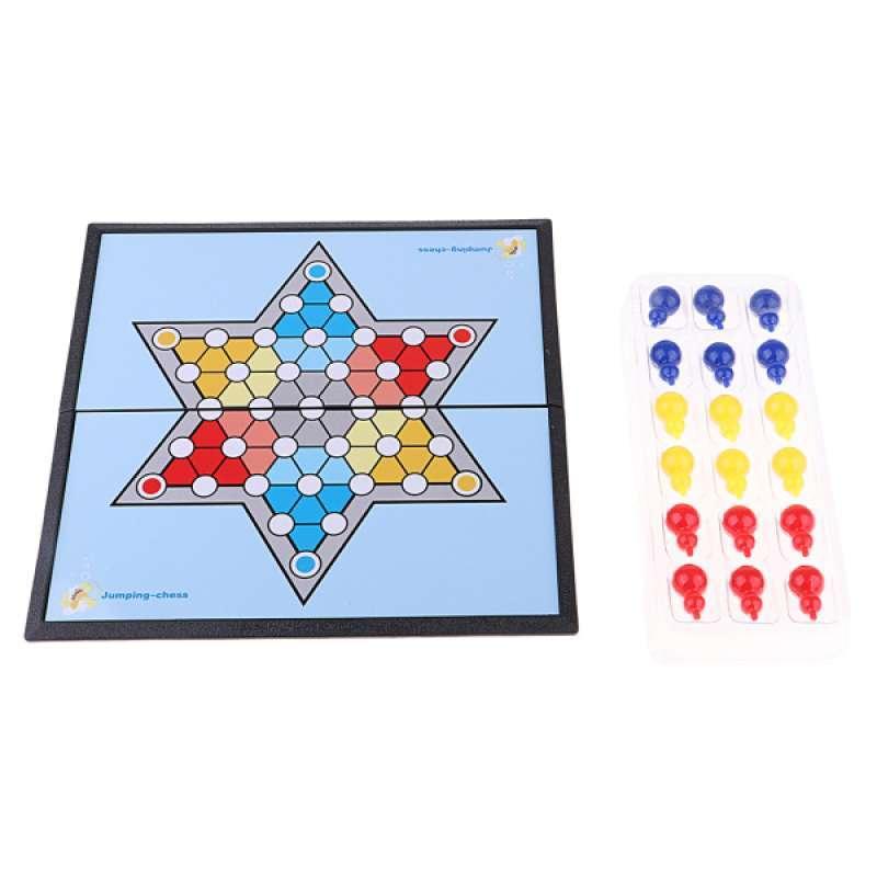 Jual Oem Plastic Chinese Checkers Game Family Travel Board Game Set For 6 Players Online Februari 2021 Blibli