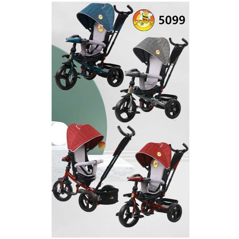 Pacific Baby 5099 Tricycle Stroller Sepeda