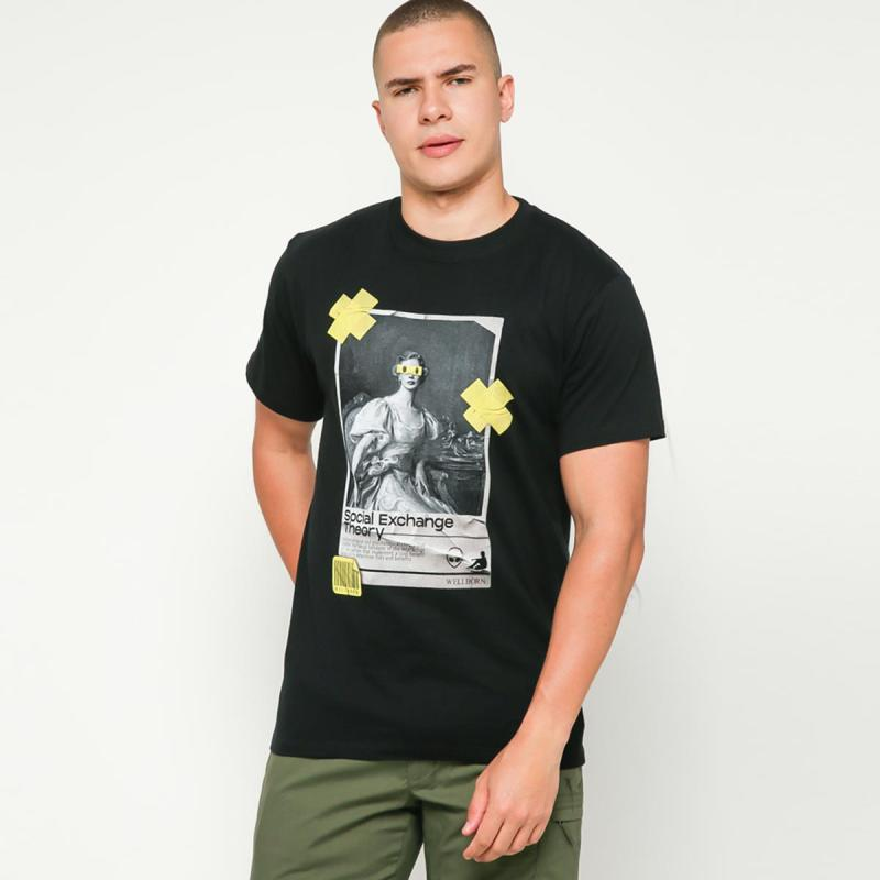 Wellborn x Blibli Theory T Shirt Pria Black