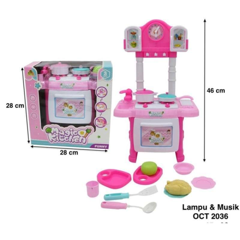 Jual Mainan Anak Masak Masakan Dapur Happy Cooking Lol Pink Online November 2020 Blibli Com