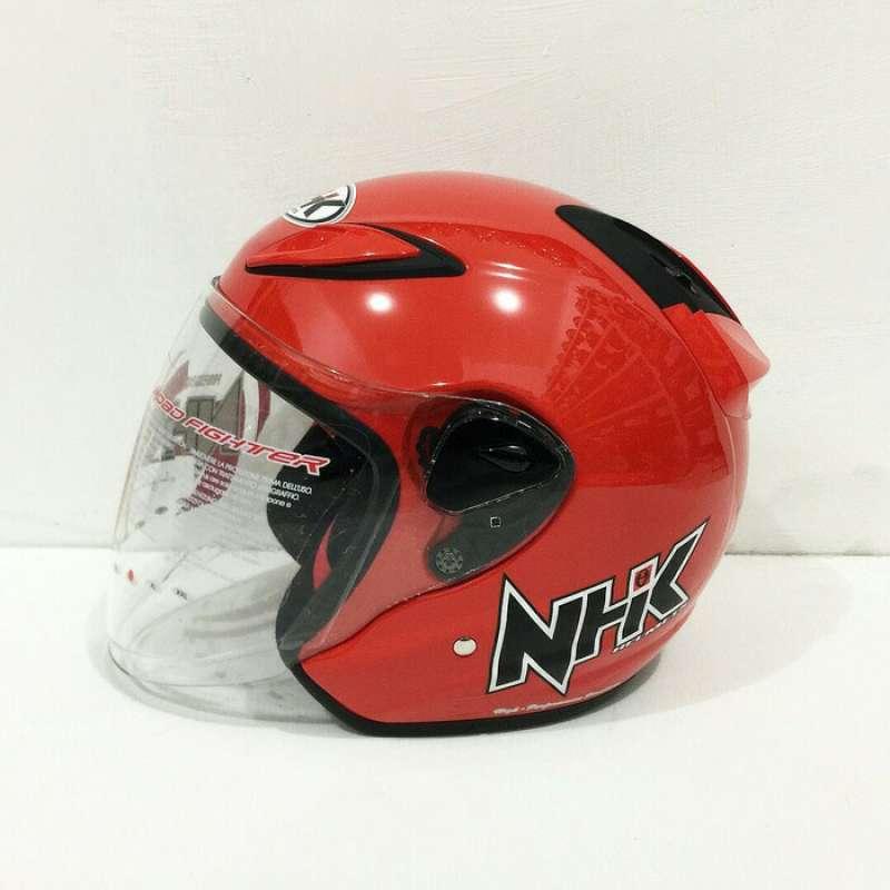 Jual Helm Nhk R6 Merah Ferrari Helm Nhk Half Face R 6 Online Februari 2021 Blibli
