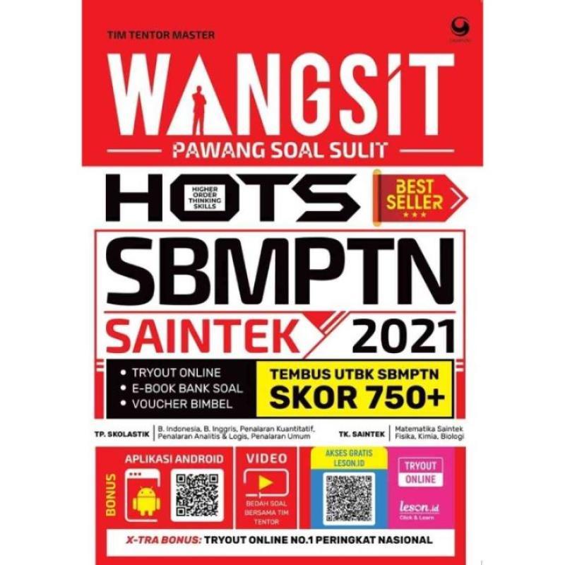 Jual Spesial Offer Wangsit Pawang Soal Sulit Hots Utbk Sbmptn Saintek 2021 Online Maret 2021 Blibli