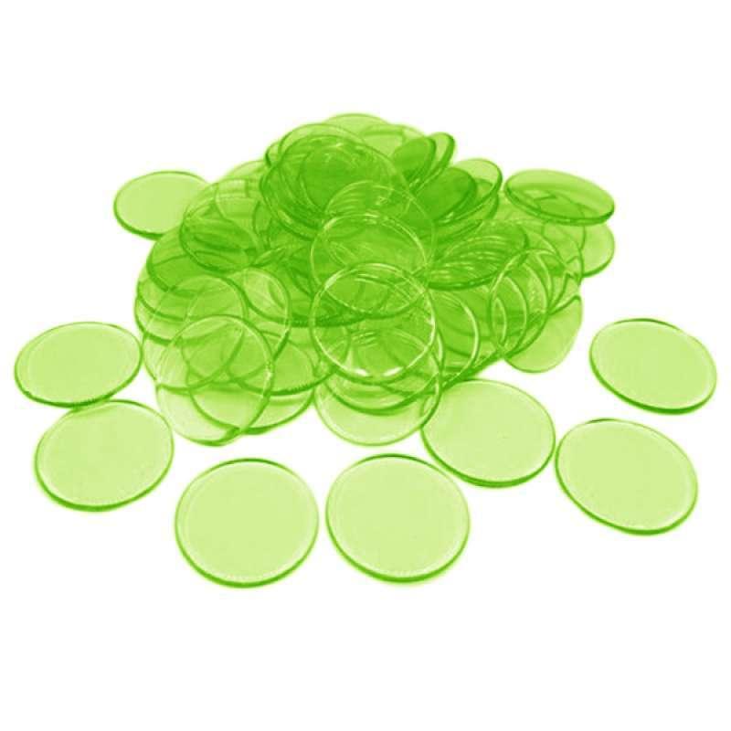 Jual 100pcs Poker Chips Coins Casino Supply Family Games Accs Green Online Maret 2021 Blibli