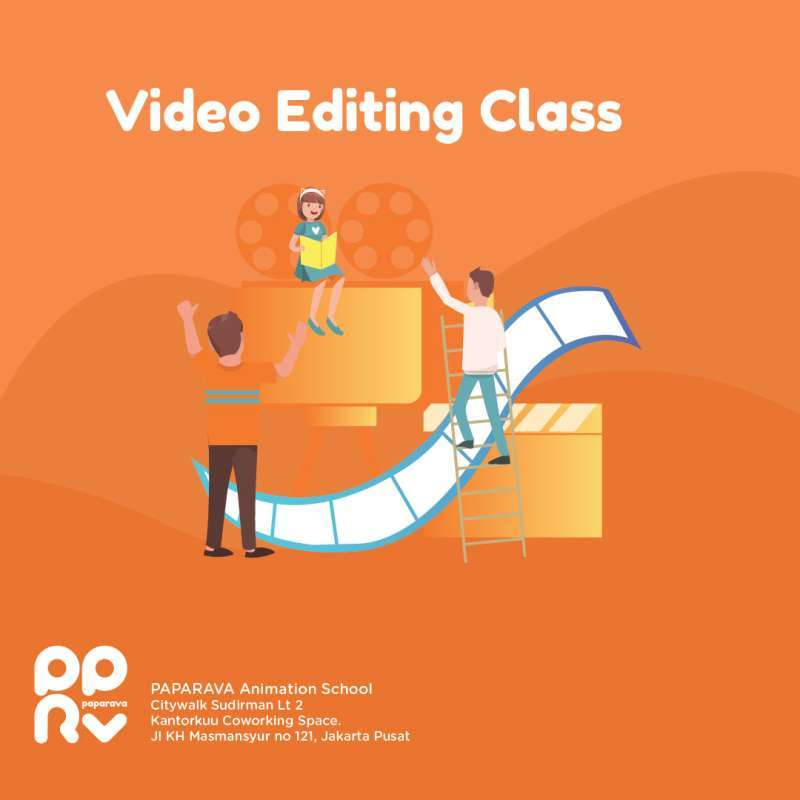 PAPARAVA Video Editing Kursus E-Ticket