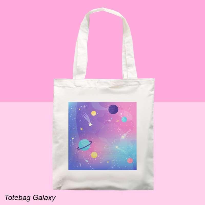 Jual Totebag Aesthetic Galaxy Online April 2021 Blibli