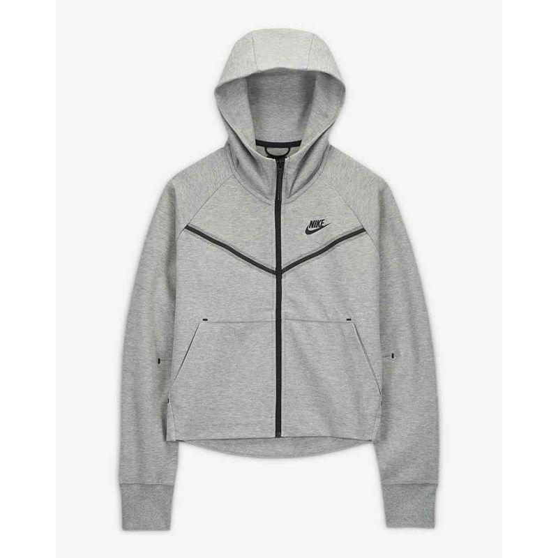 Jual Nike Women Sportswear Tech Fleece Windrunner Hoodies Grey Cw4299 063 Xs Xl 2011 100 Original Online Desember 2020 Blibli