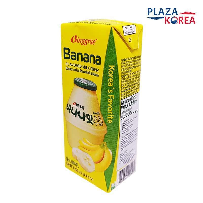 Jual Binggrae Milk Korean Drink Rasa Banana 200ml Susu Bergizi Asli Korea Online Desember 2020 Blibli
