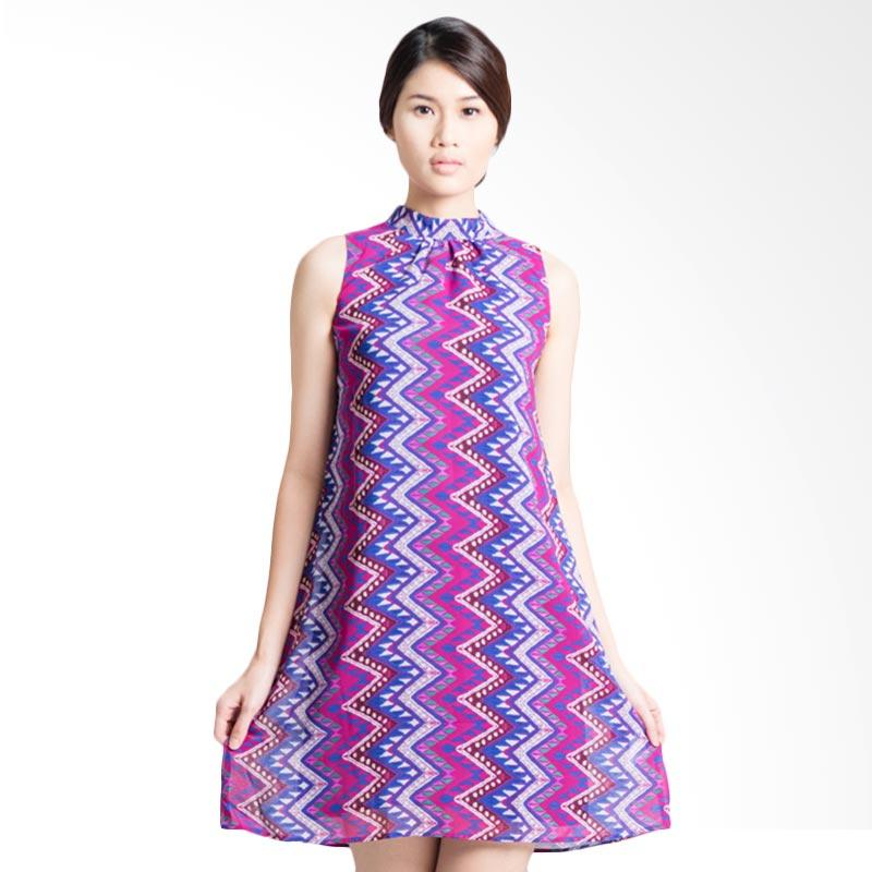 Bateeq Sleeveless Rang-rang 14-329 Dress - Purple