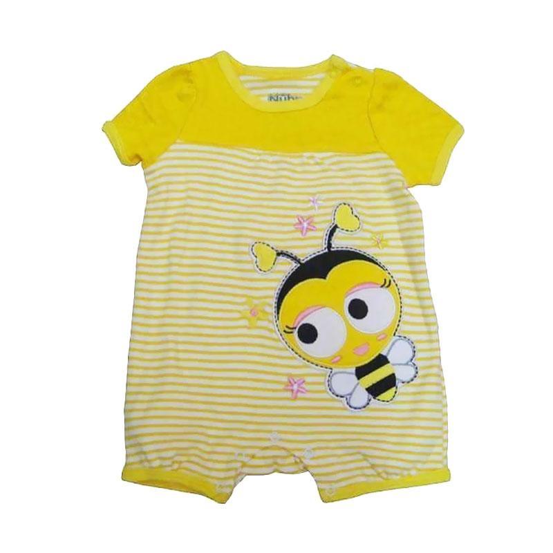 Nuby Romper Bee Baju Jumpsuit Bayi - Kuning
