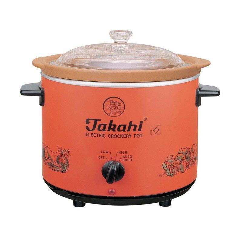 Takahi TK.1404A/1404H HR Electric Crockery Pot [2.4 L]