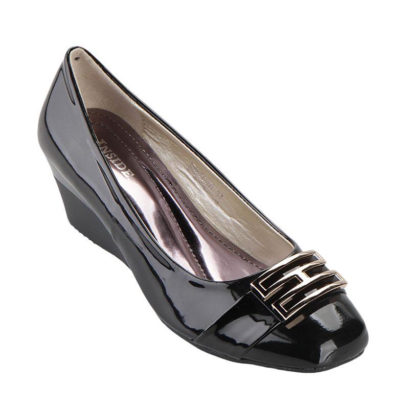 harga Inside Wedges Lauretta Sepatu Wanita - Black Blibli.com