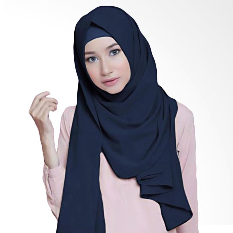 Kus Group Hijab Diamond Pashmina - Navy