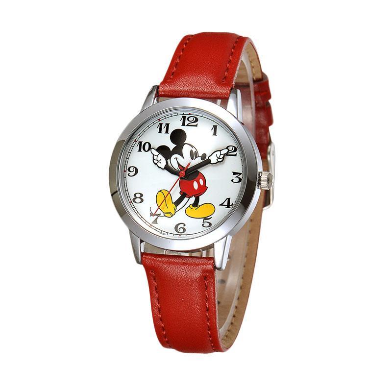 Disney MS11027-R Mickey Jam Tangan Wanita - Merah