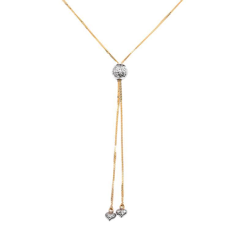 Kalung Emas Kadar 75 - Etched Gold Necklace-WHIZLIZ