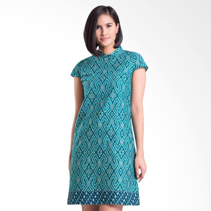 Bateeq CL15-010A Short Sleeve Cotton Dress - Green
