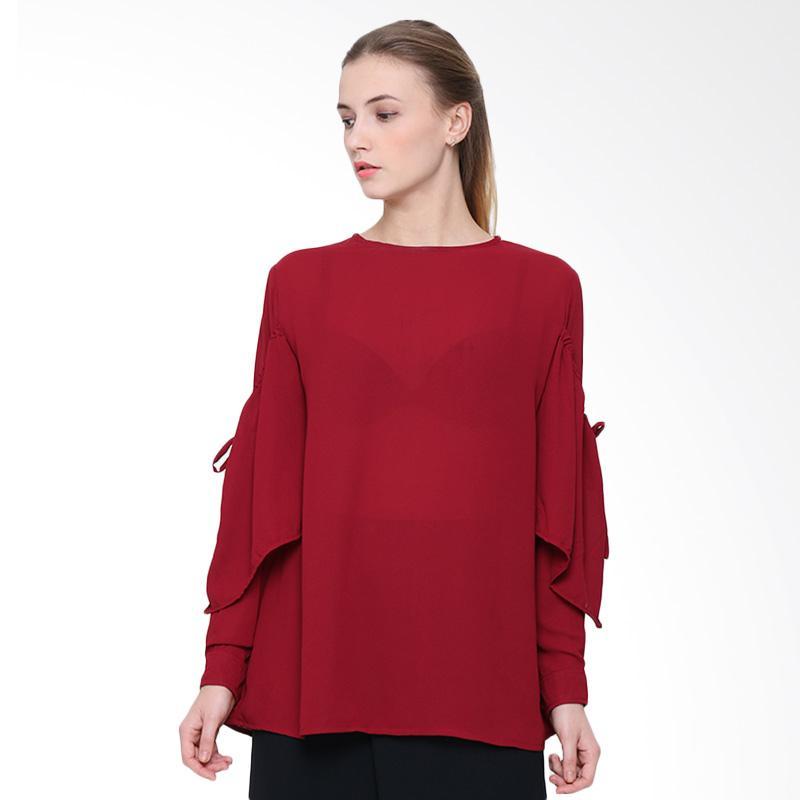 Delarosa Layer In Tunik Atasan Wanita - Red