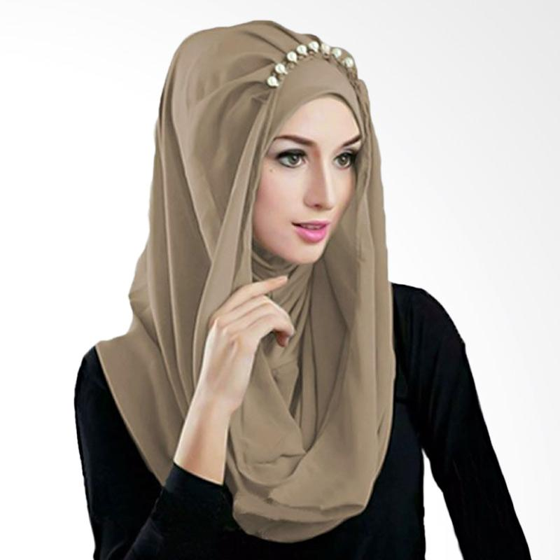 Kus Group Hijab Deeja Pearly Bergo - Milo