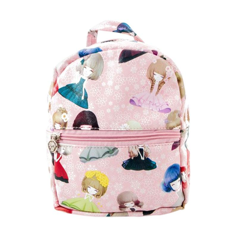 harga Paroparoshop Girly Backpack - Pink Blibli.com