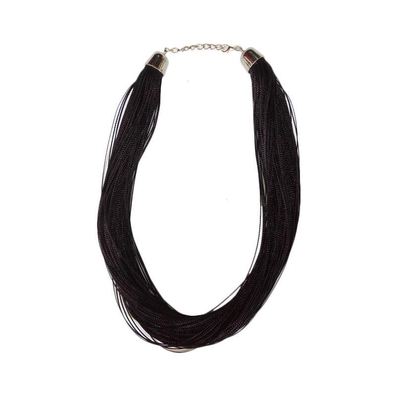 Tata Bali Shop 007 Kalung Wanita Glitter - Black
