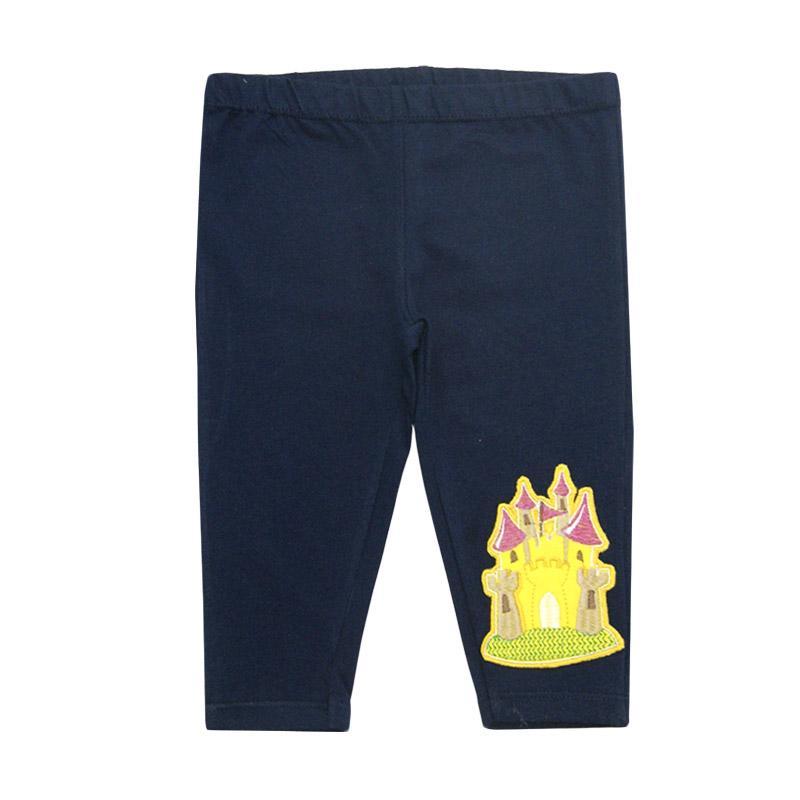 Bearhug Istana Legging Bayi Perempuan - Navy