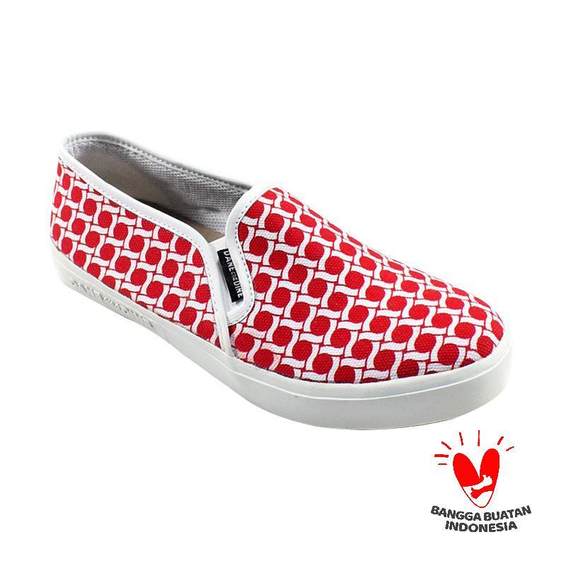 Dane And Dine Fast Dotik Sepatu Wanita - Red