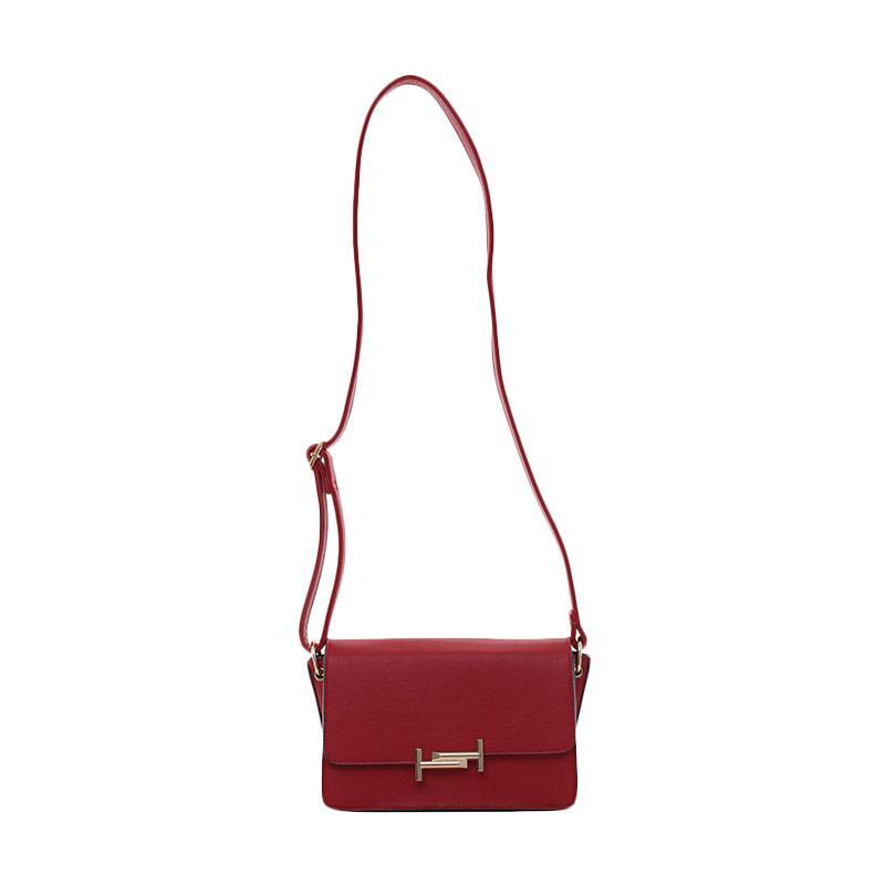 Elizabeth Bag Quinn Tas Selempang Merah