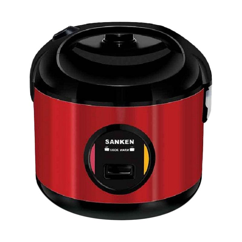 Sanken SJ-2800M Rice Cooker - Merah [2Ltr] 6In1