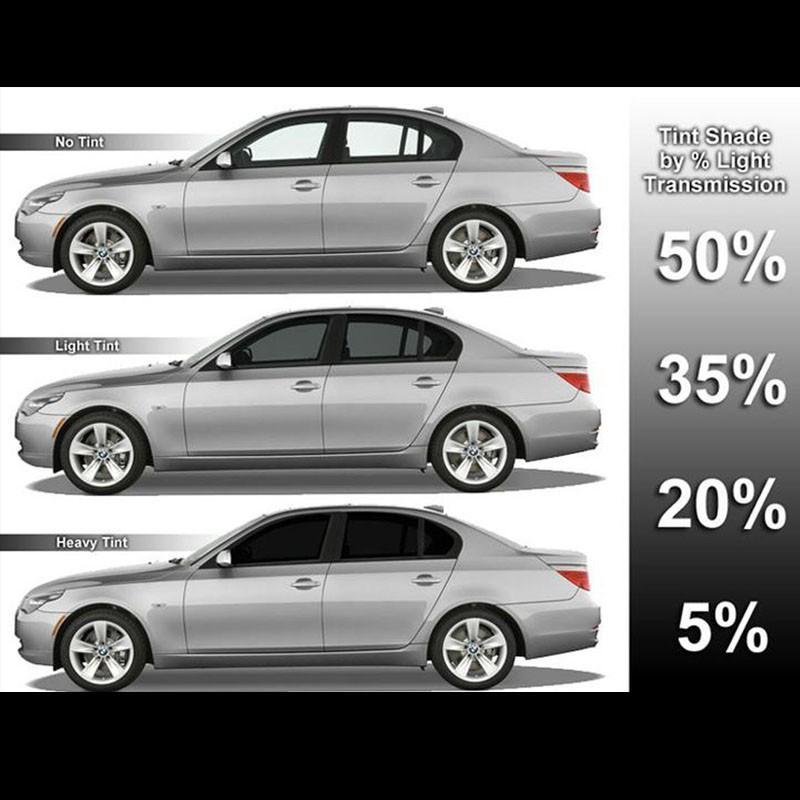 3M Auto Film Titanium Kaca Film Mobil for Hyundai i10