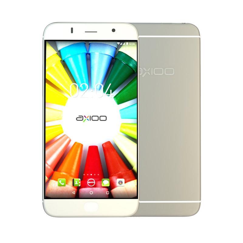 Axioo Picophone M5 Smartphone - Silver [8 GB/1 GB]